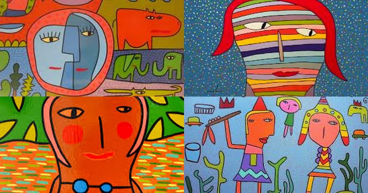 Artes Visuales 4 Algunas Im 225 Genes De Obras De Milo Lockett