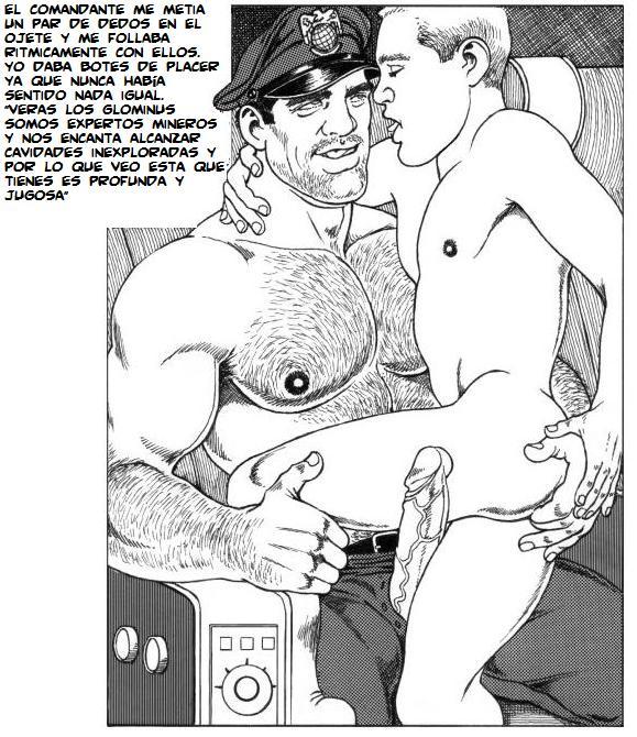 uniforme gay agujero