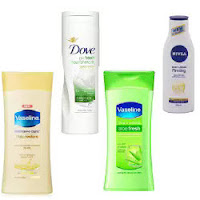 Amazon : Dove, Nivea & Vaseline Body Lotion upto 35% off from Rs.96 only