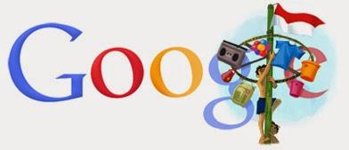Google Doodle Untuk Hari Kemerdekaan Republik Indonesia ke 66 Tahun 2011