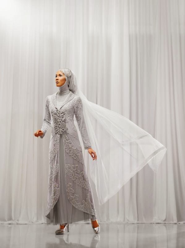 Model tudung pengantin