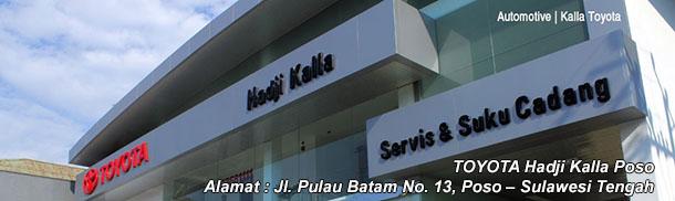 Harga Mobil TOYOTA Hadji Kalla POSO, Sulawesi Tengah