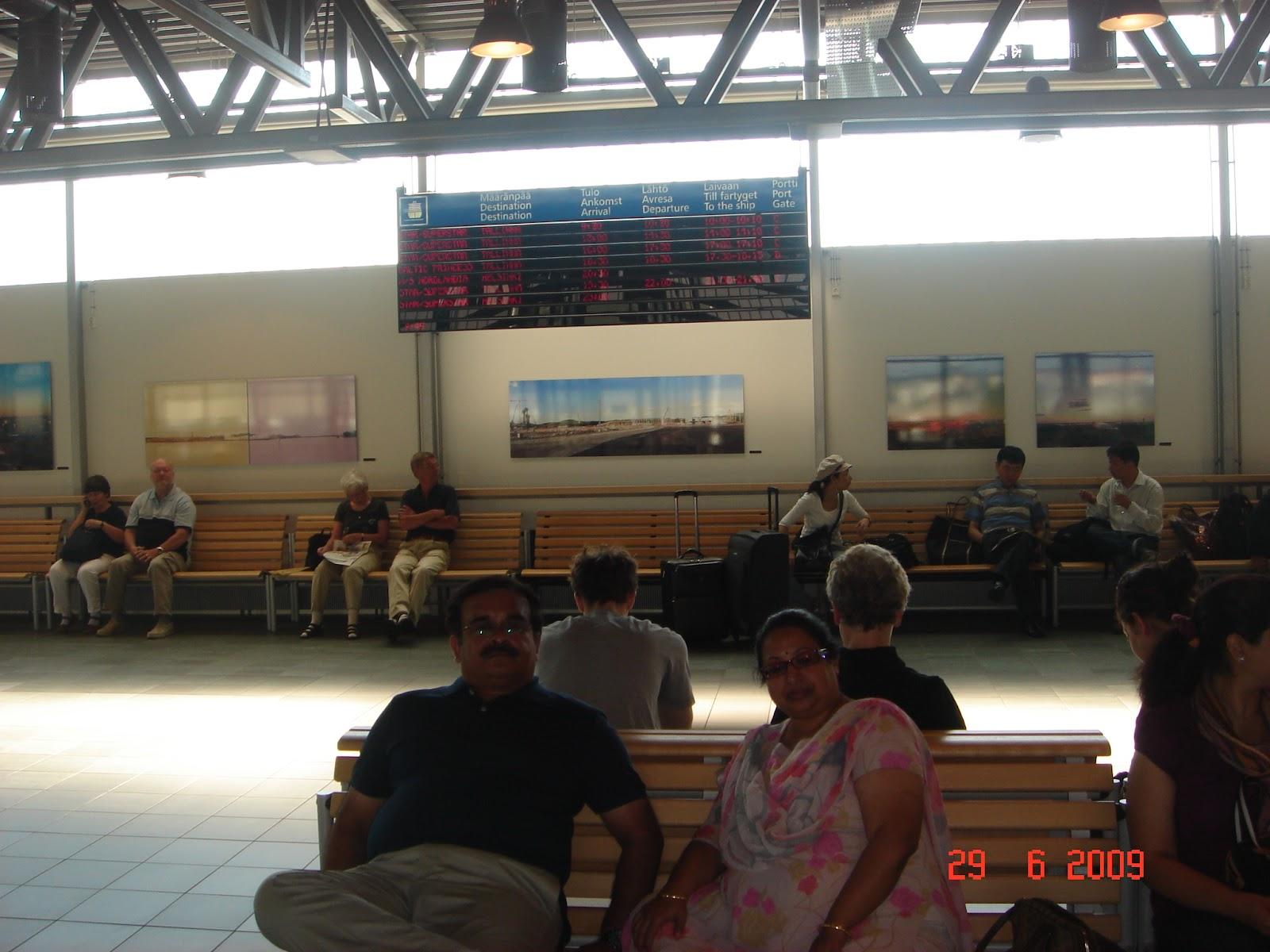 Boarding terminal at Helsinki for M/S Tallink Superstar to Tallinn
