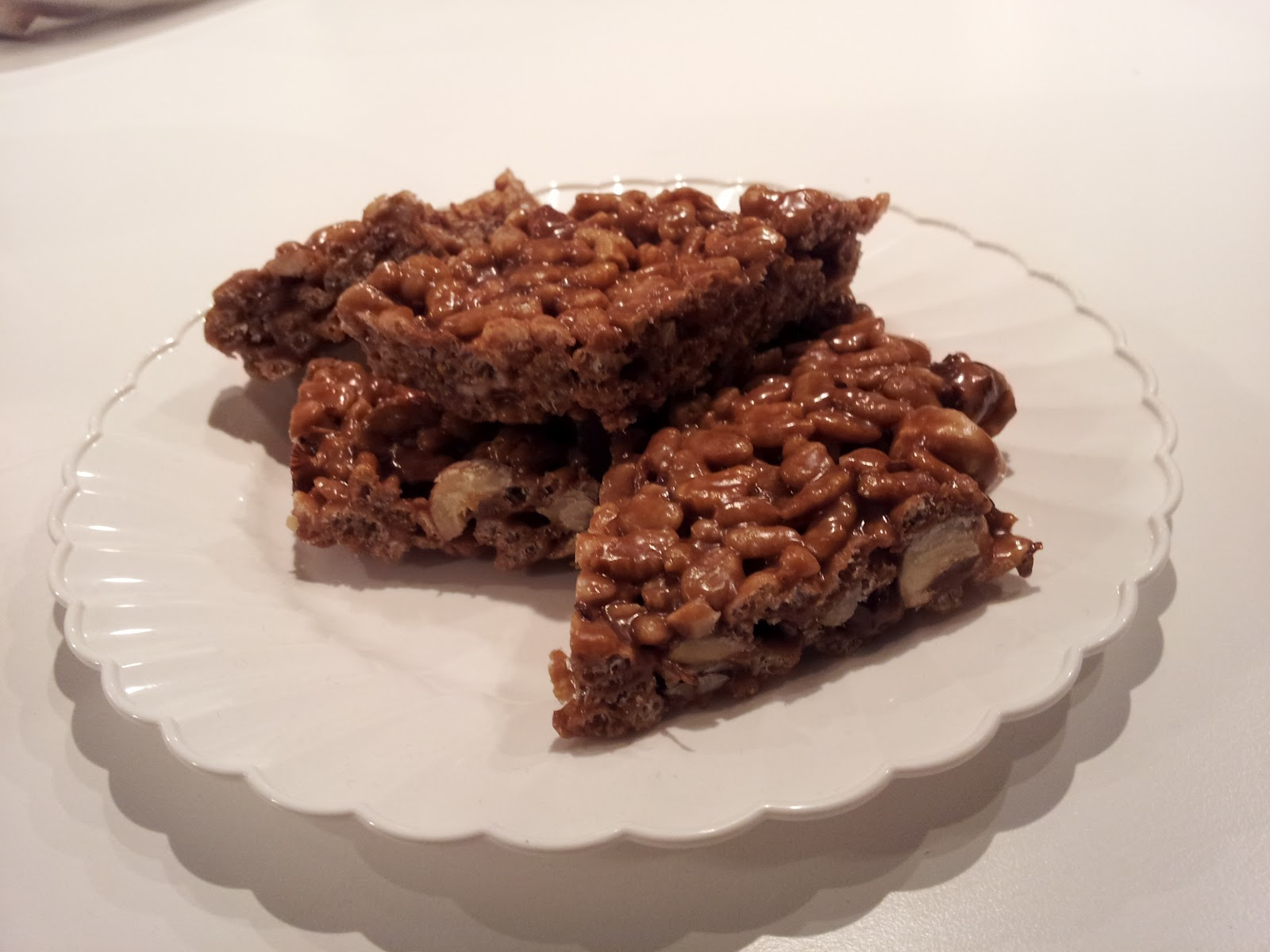 No Gluten Required: nutella rice krispie treats