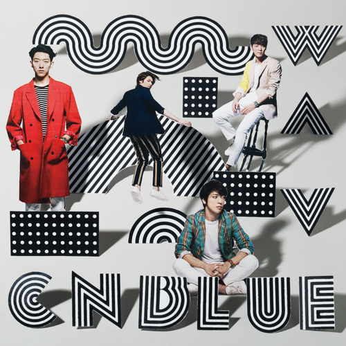 CNBLUE WAVE Regular Edition Cover