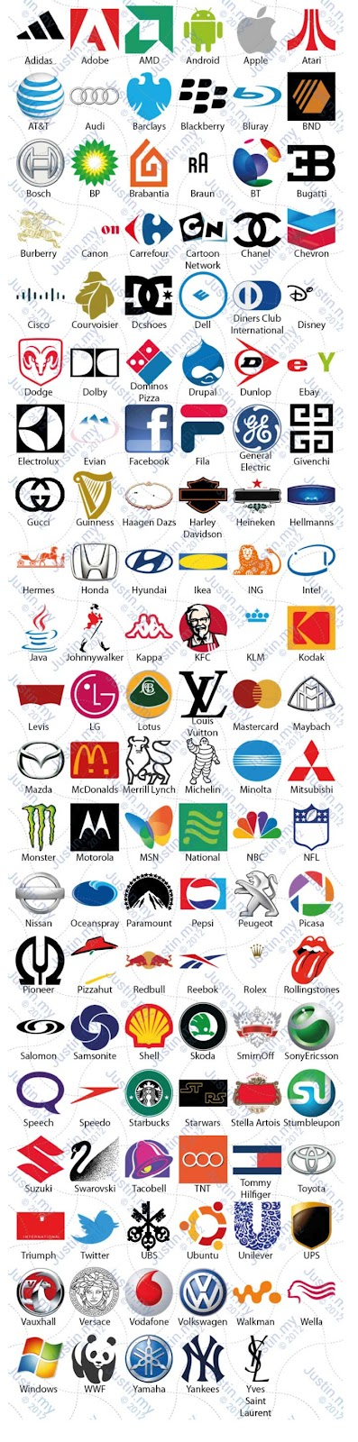 Clothing Logos Quiz Answers