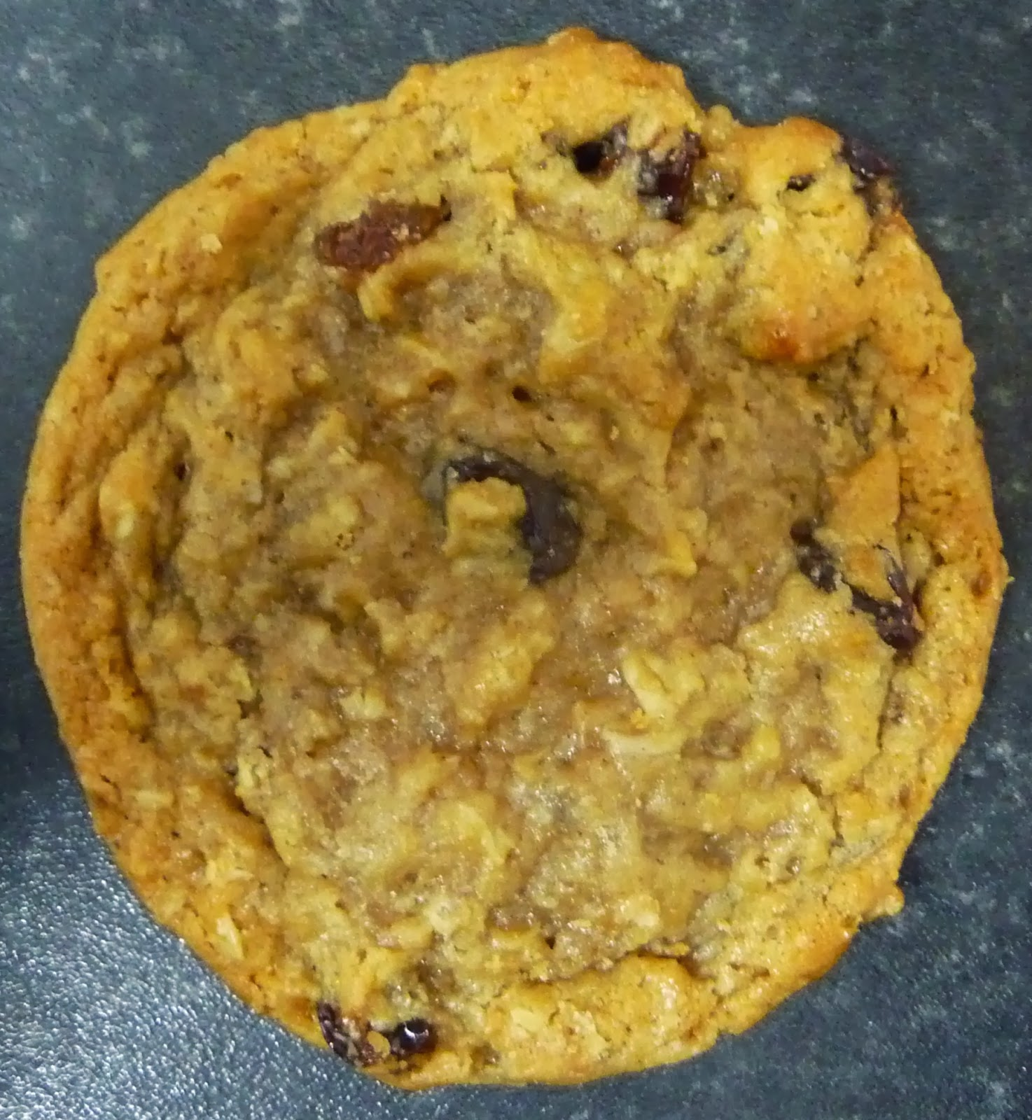Something To Look Forward To Subway Oatmeal Raisin Cookie