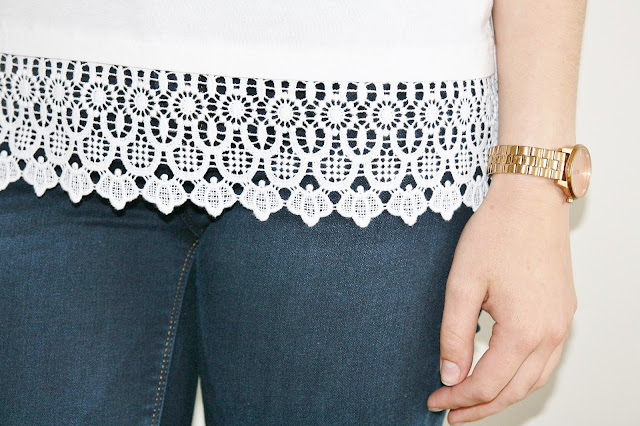 Katherine Penney Chic Summer haul high street H&M Zara Topshop White Short pyjamas Lace Pretty Girlie
