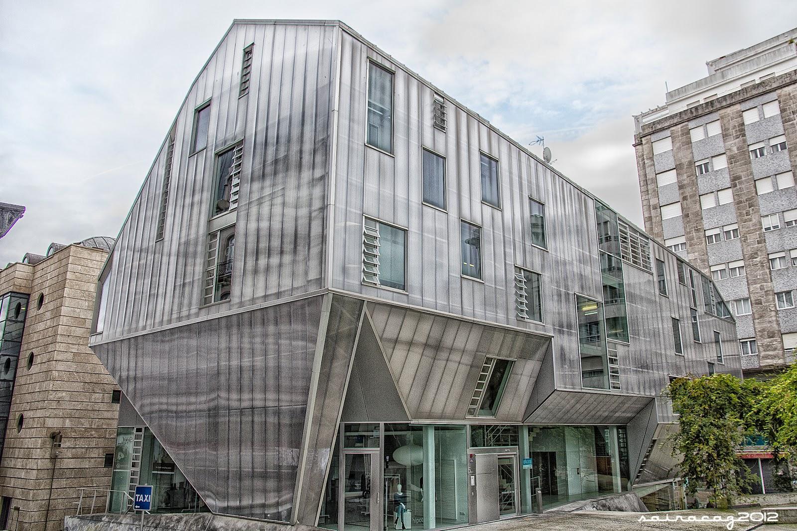Vigo by sairacaz sede del colegio de arquitectos - Arquitectos en vigo ...