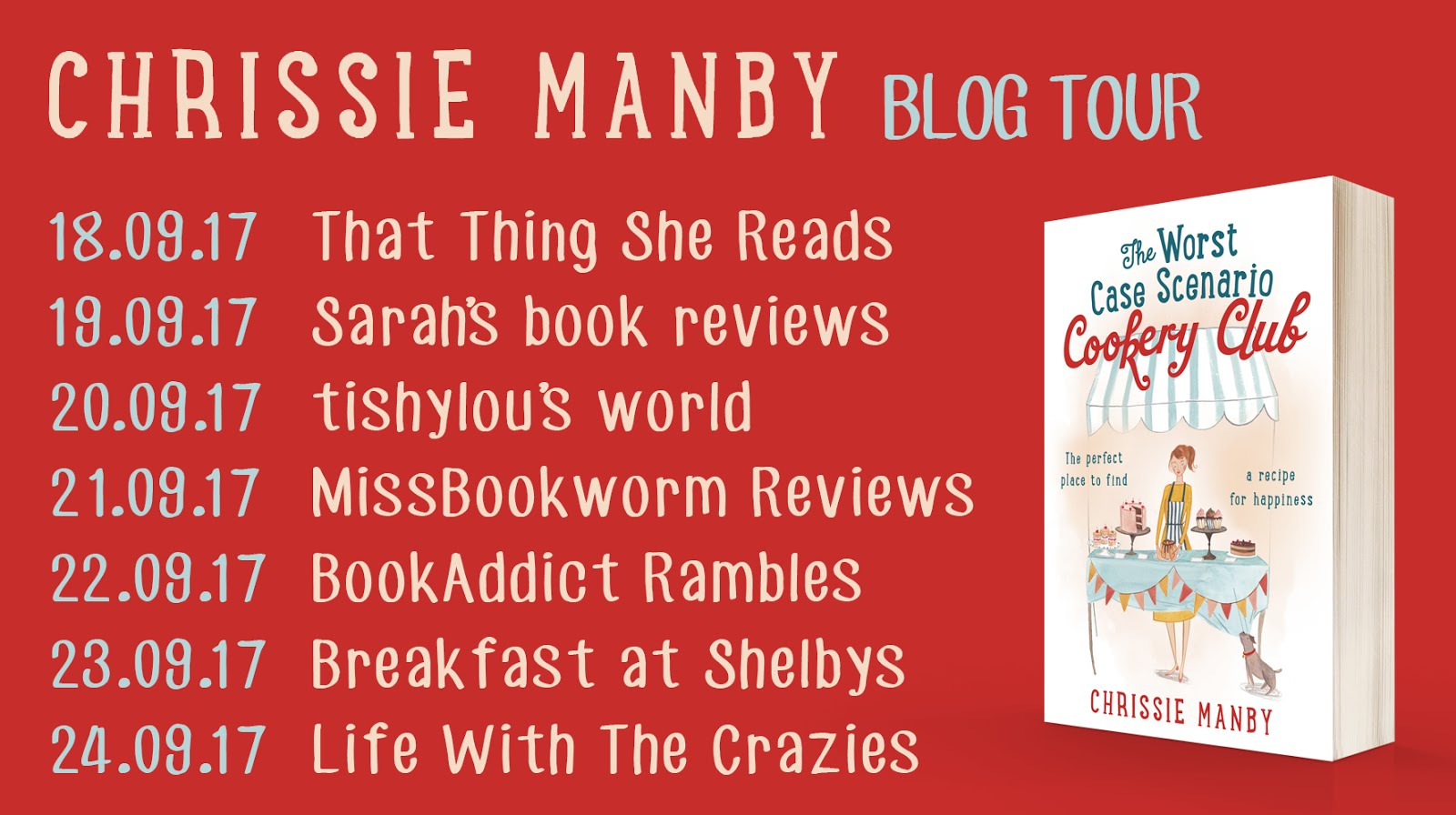 Blog Tour: The Worst Case Scenerio Cookery Club