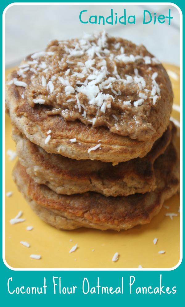 Sugar free gluten free coconut flour oatmeal pancakes candida diet friendly sugar free gluten free coconut flour oatmeal pancakes candida diet friendly ccuart Images