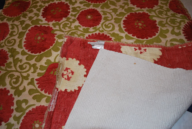 Make A 1hour Project Throw Rug From Upholstery Fabric