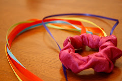 Silk Streamer with Ribbons