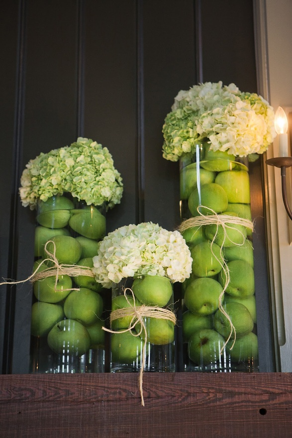 Ciao newport beach autumn dinner party ideas decor for Apples decoration