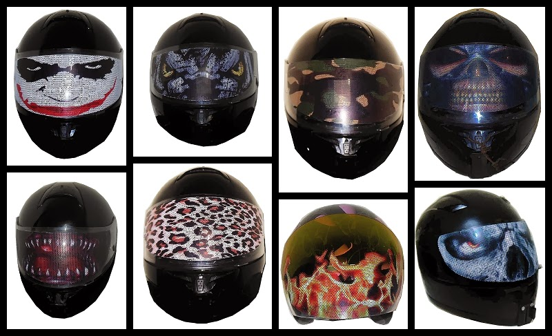 Motorcycle Helmet Visor Decals Custom Vinyl Decals - Custom vinyl stickers for helmets