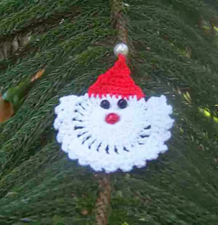 Santa Ornament - Patterns | Yarnspirations