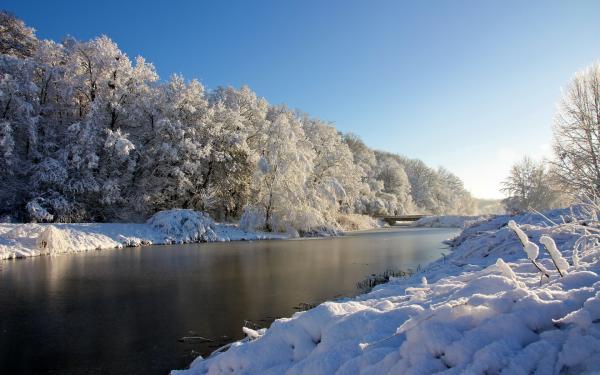 Veja como o inverno é bonito