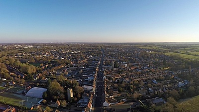 aerial photos & videos of the Stony Stratford area