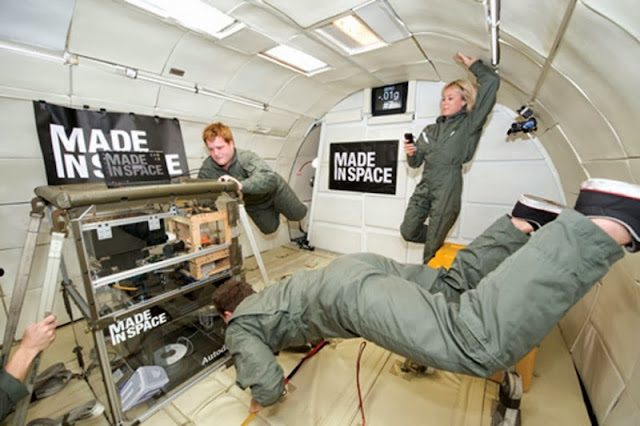 Made in Space fabrica la impresdora 3D que lanzara la NASA a la ISS en otoño del año 2014.