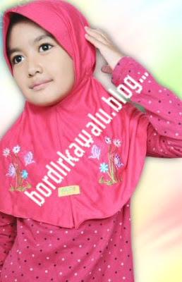 Bahan Jilbab untuk anak Anda, pilihlah yang terbuat dari