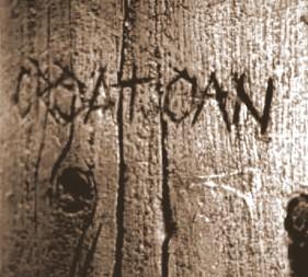 La colonia perdida de Roanoke Croatoan1-300x266