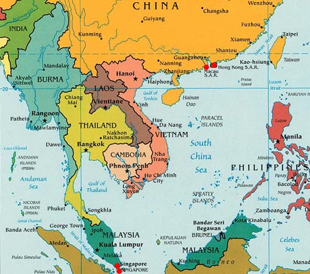 Where Is Cambodia Located On The World Map - Where is cambodia