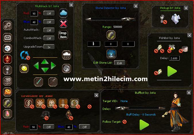 M2-Xmod Metin2 Exp Bot Hilesi