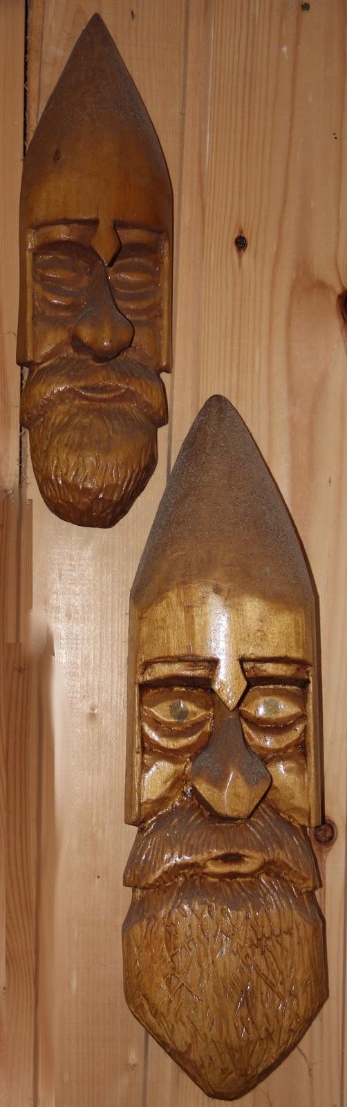 Резьба по дереву. Деревянные маски