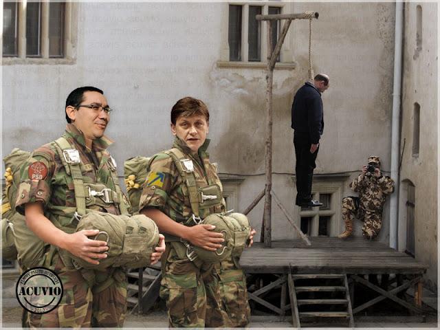 Funny photo Suspendarea presedintelui Victor Ponta Crin Antonescu
