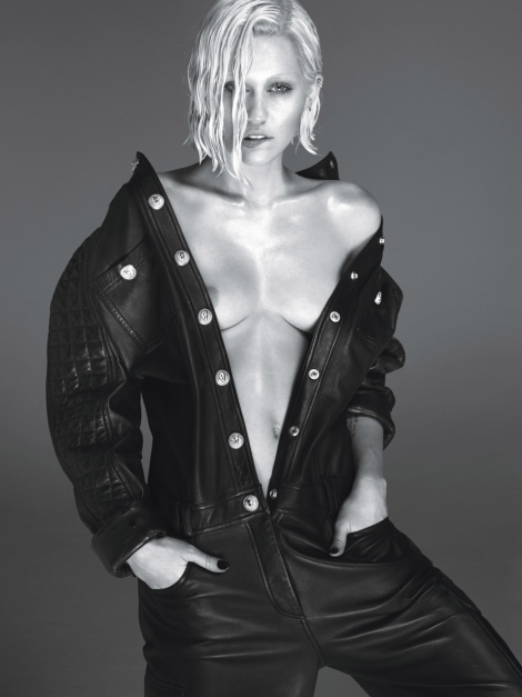 Miley Cyrus by Mert & Marcus for W
