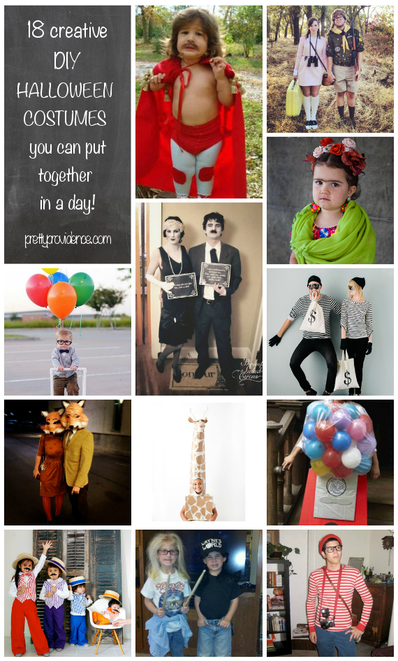 cheap DIY halloween costumes you can put together in a day - Cheap And Creative Halloween Costumes