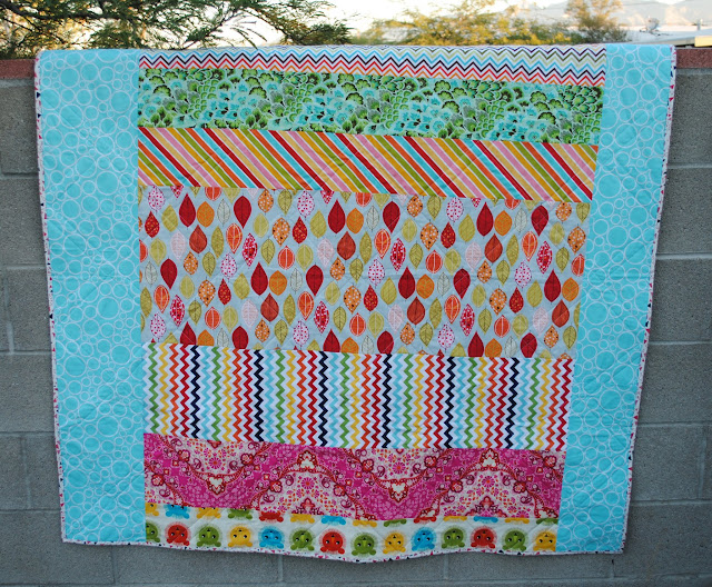 low volume pinwheels split personalities quilt back