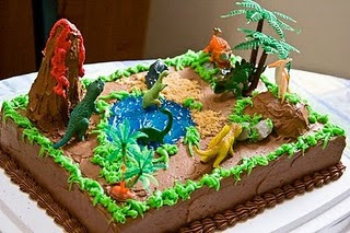 Dinosaurs Birthday Cake Ideas