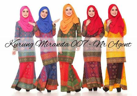 Fesyen Muslimah YAng PAsti Memukau PAndangan Gadis Berhijab KURUNG MIRINDA Memang CAntik Sangat