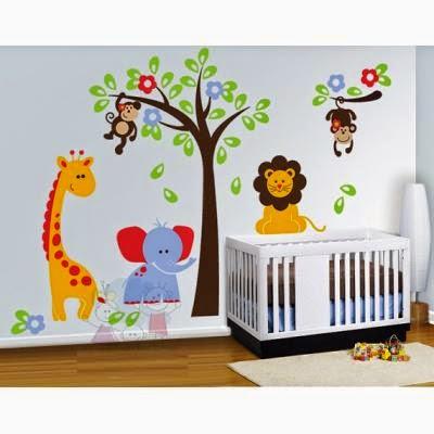 Decoraci n del cuarto de un beb var n todo bebes - Ideas para pintar habitaciones infantiles ...