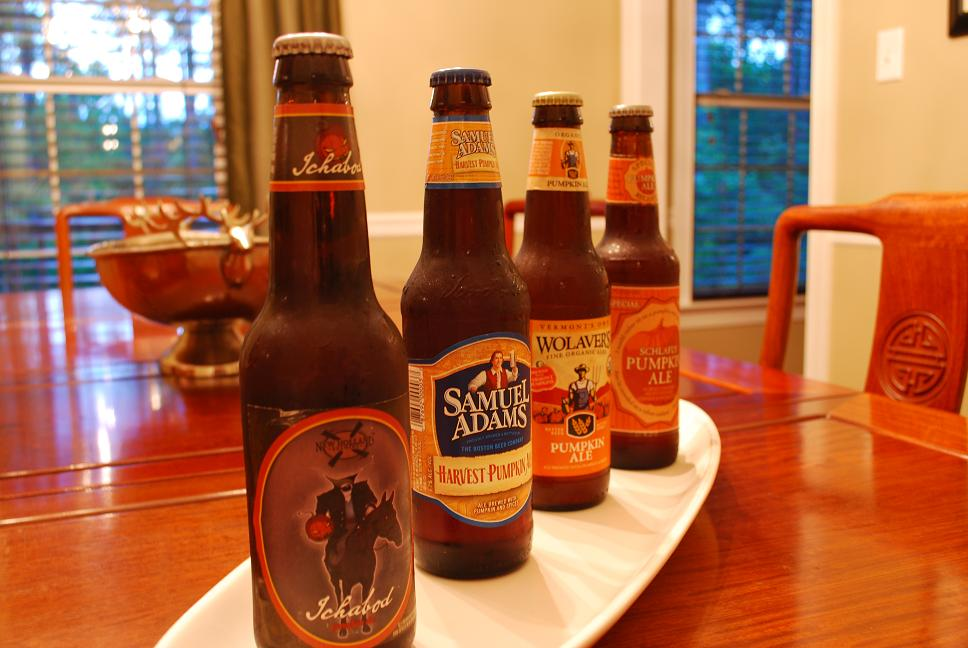 Just the right size the great pumpkin beer taste off Pumpkin carving beer