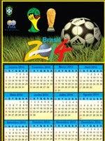 Calendário grátis 2014 copa do mundo