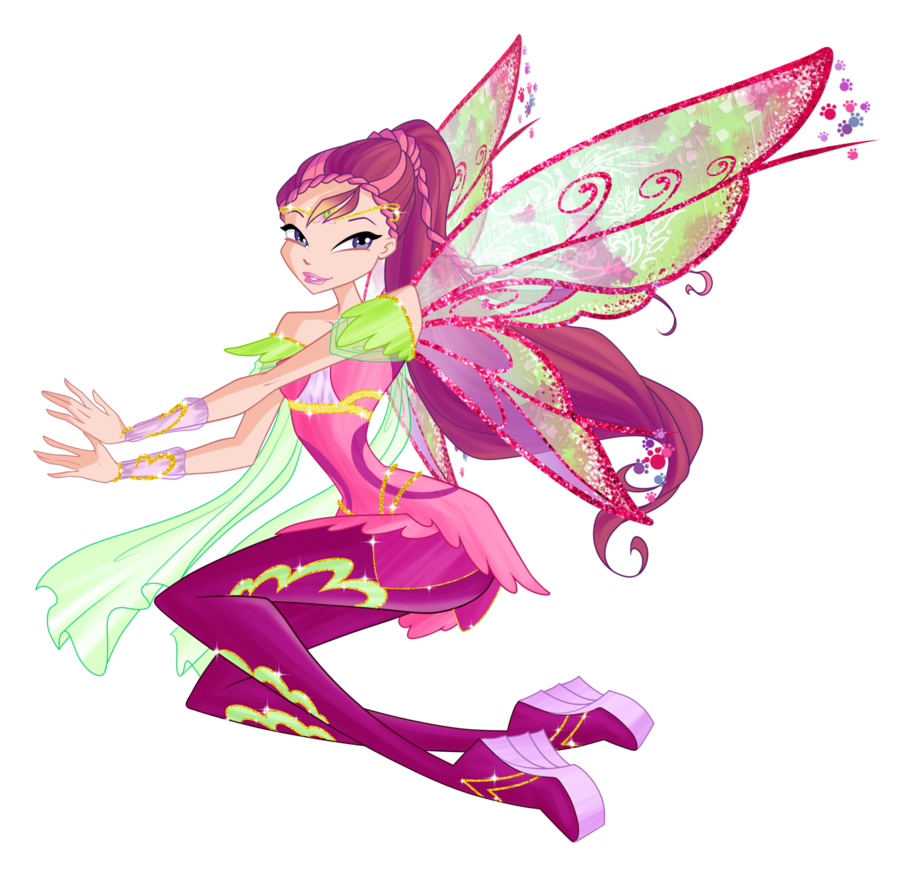 Winx club fairies roxy - Winx magic bloomix ...