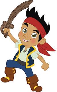 Jake E Os Piratas Da Terra Do Nunca  E Tamb  M Para Lembrancinhas