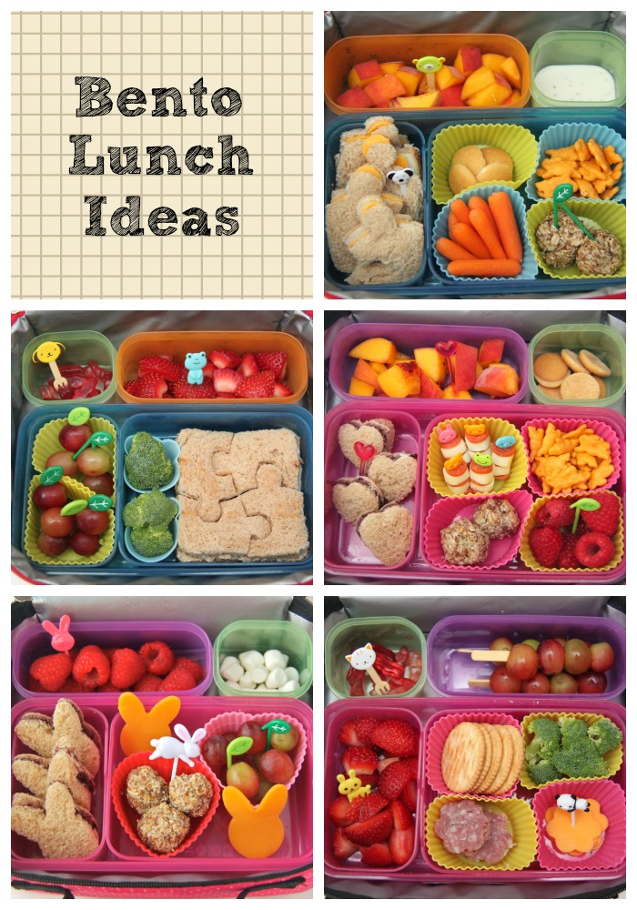 The ancient Japanese tradition of packing lunch in a bento box, a decorative container with small compartments, has now become mainstream. We love bento box lunches because the compartments help control portion sizes and they're great for kids too.