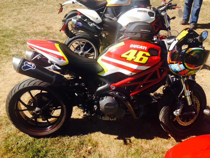 Valentino Rossi Ducati Monster