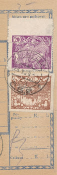 VÝROBNÍ VADA ČESKOSLOVENSKÉ POŠTOVNÍ ZNÁMKY Z OBDOBÍ PRVNÍ ČESKOSLOVENSKÉ REPUBLIKY (1918-1939)