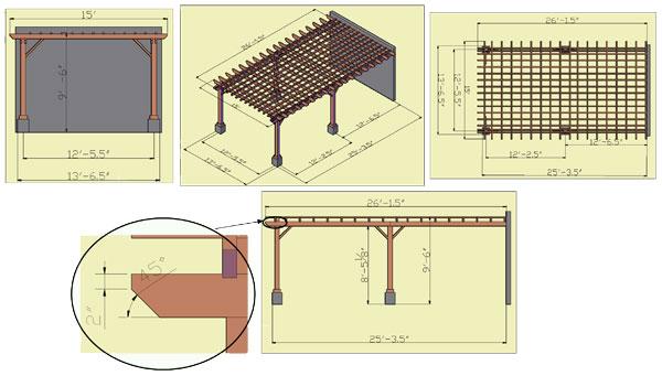 Bandar nusaputra idea pergola design for Design your own pergola