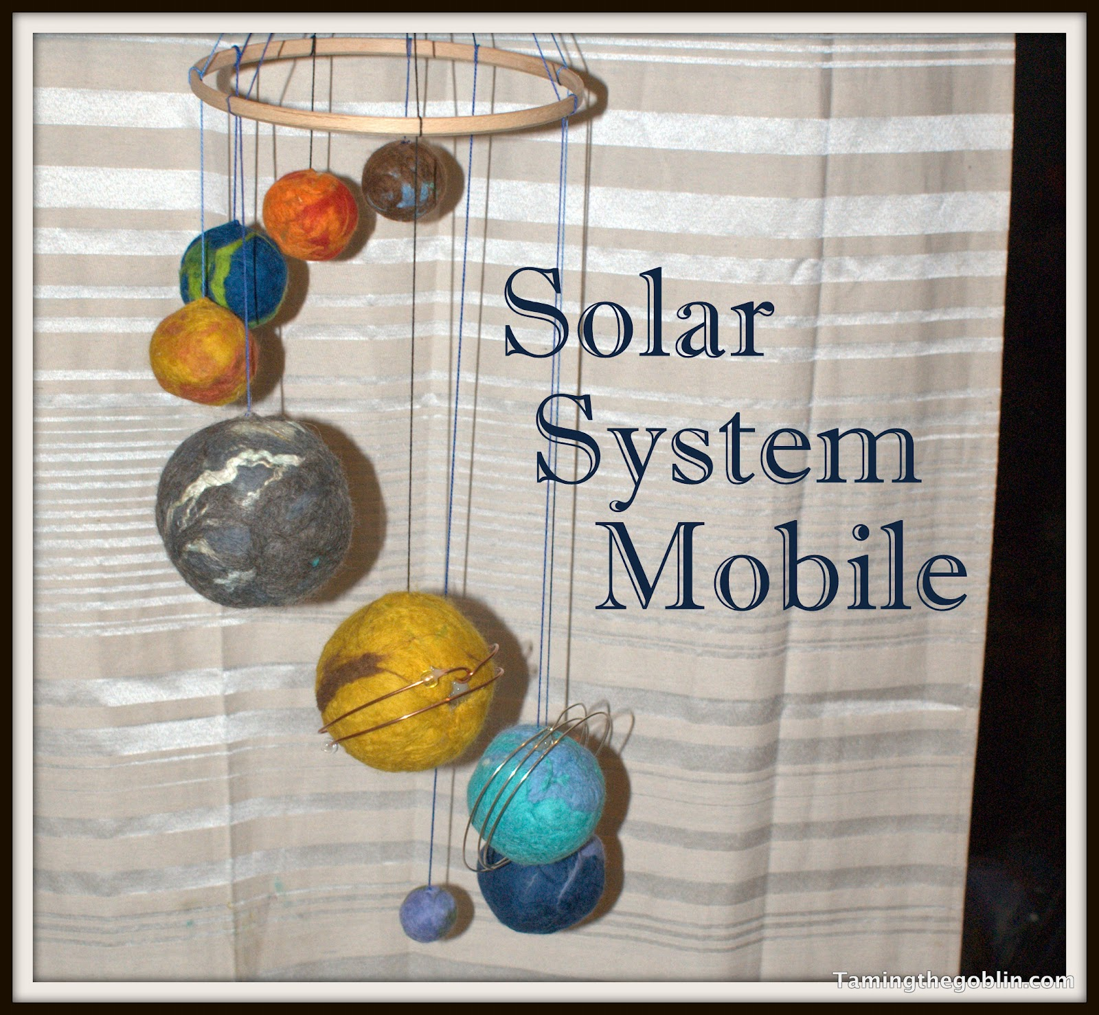 Taming the goblin solar system mobile