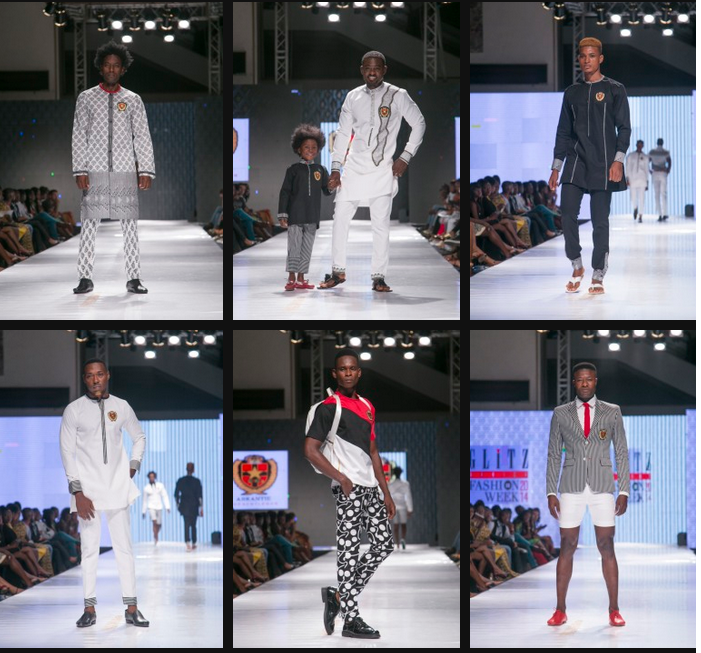 Glitz Africa Fashion Week 2014 with top dresses for African men