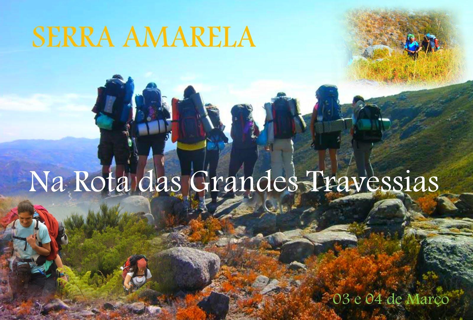 03 e 04/03/18 - Travessia da Serra Amarela