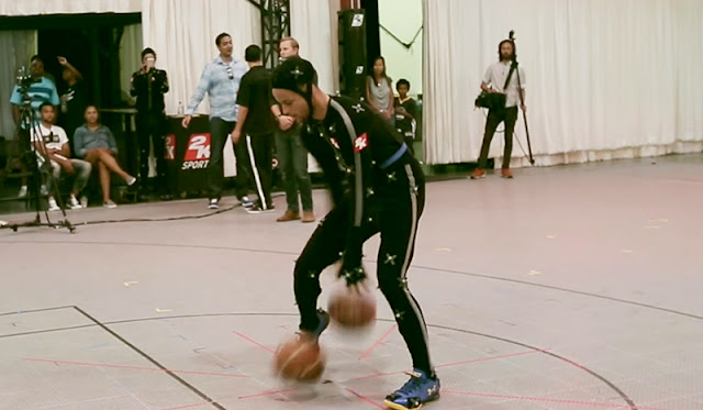 NBA 2K16 Motion Capture Video ft. Stephen Curry