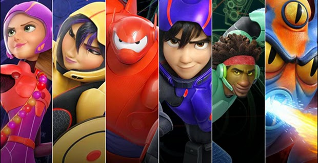 Big Hero 6, Film Animasi Dengan Teknologi Canggih