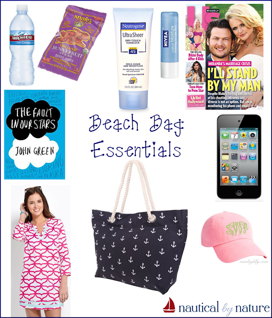 Nautical by Nature: Beach Bag Essentials
