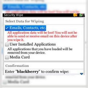 Cara Wipe Blackberry Curve 9300
